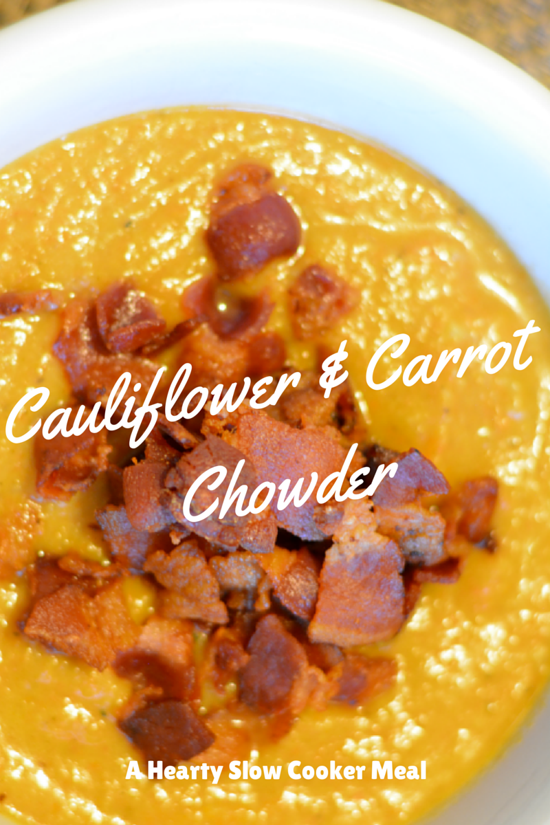 cauliflower carrot chowder