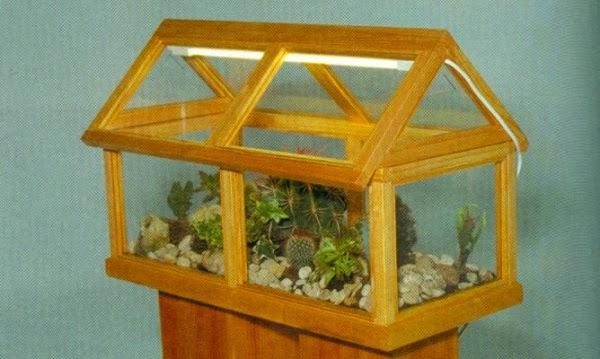 Como hacer un mini invernadero casero de madera for Como realizar un vivero