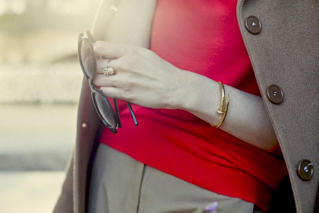 Lili Jewellery Owl Ring