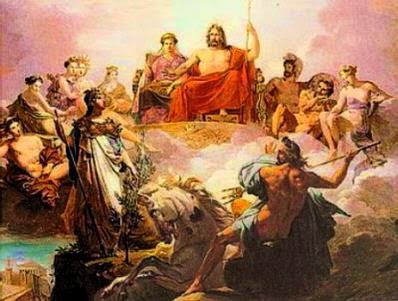 Ετυμολογια ονομάτων των Θεών του Ολύμπου! Τι σημαίνουν τα ονόματα; Δίας Ήρα Άρτεμις