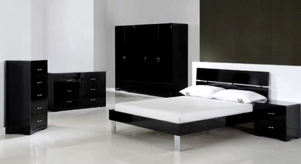 Black And White Bedroom Furniture Ideas