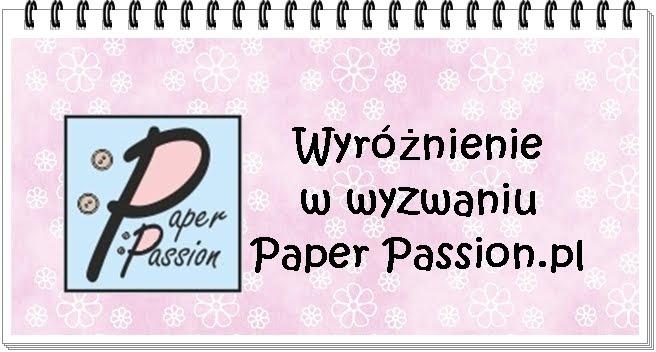Moje hurrra!!! Paper Passion