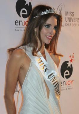 miss universo universe chile 2011 winner vanessa ceruti