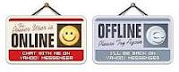 Chèn trạng thái online/offline yahoo vào website, blog