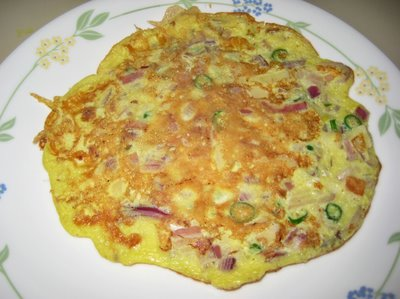 SOUTH INDIAN FOOD VERITIES & PREPARATION: South Indian Omelet