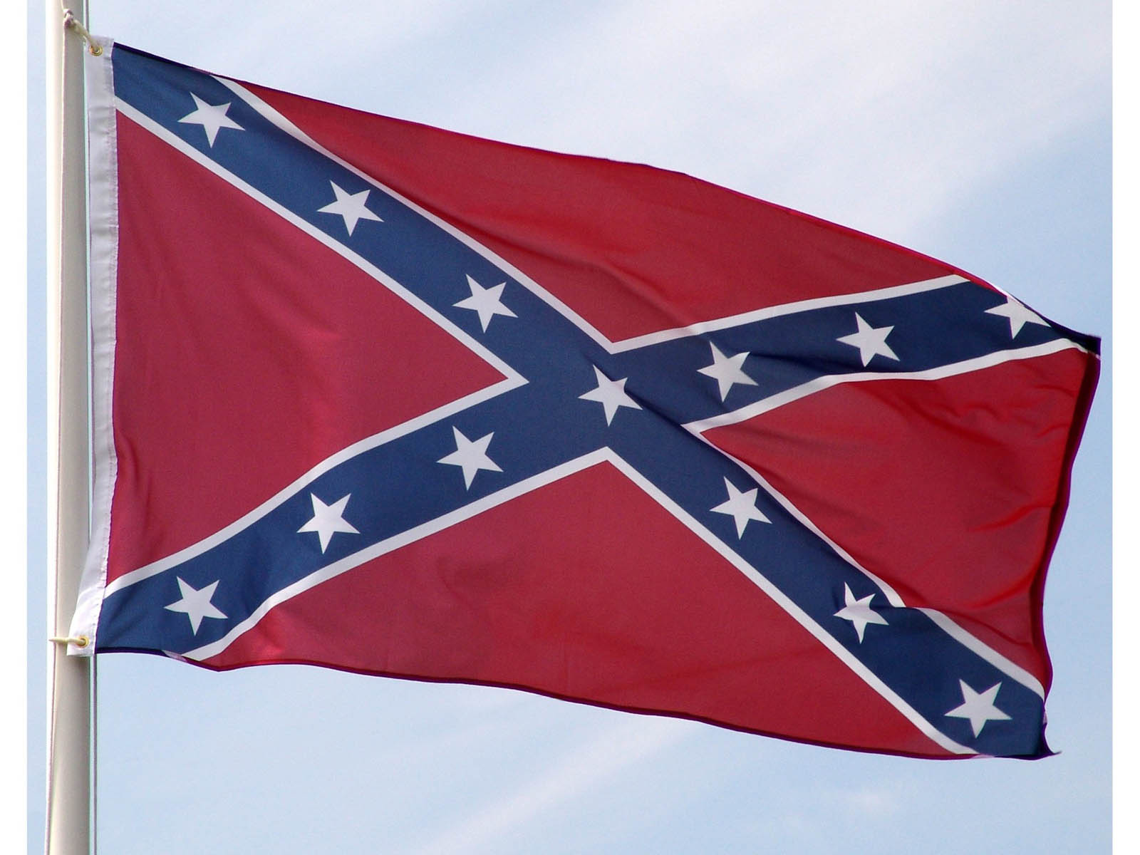 confederate flag Three successive designs served as the official national flag of the confederate  states of america during its existence from 1861 to 1865 since the end of the.