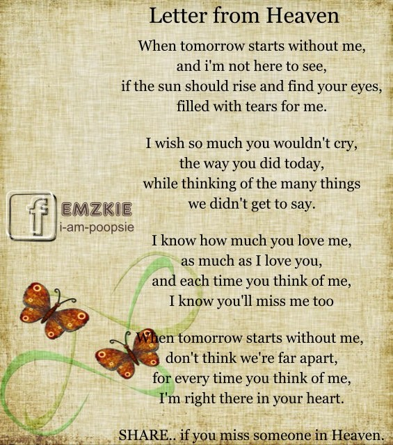 I Miss You Mom in Heaven Quotes