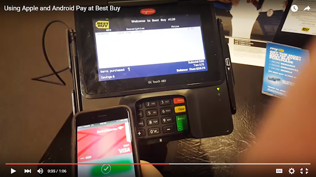 Best Buy Credit Card Store Purchase with Apple Pay