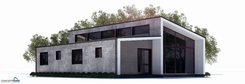 Images Of Affordable Modern Home Plan CH255