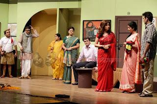 Lagnachi bedi marathi natak cast - Vaibhav Mangale, Vishakha Subhedar, Lokesh Gupte, Chaitrali Gupte, Rahul Mehendale, Aastad Kale, Akshaya Bhingarde, Uday Nene, Arun Hornekar and Neha Pendse