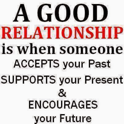 "That ""Good Relationship"" is just SO important."