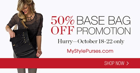 Miche Flash Sale: 50% OFF Base Bags (Ends midnight 10/22/13)