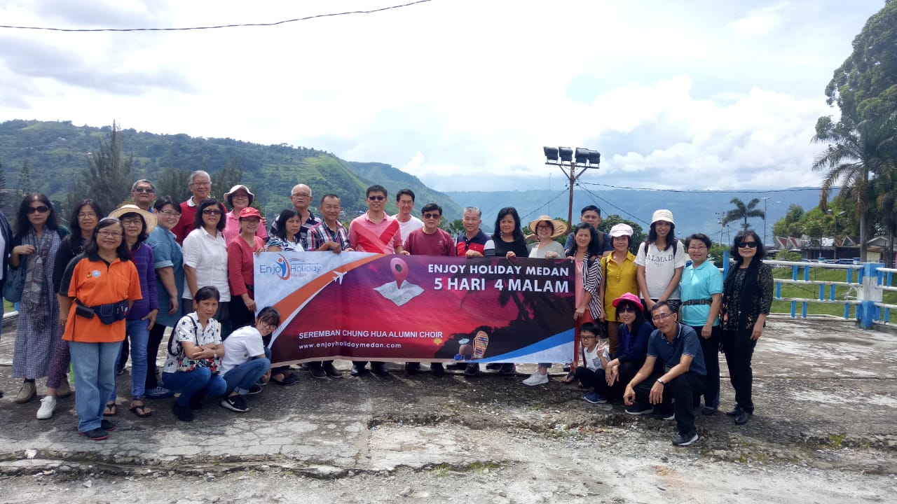 5D4N Medan - Berastagi Tour - Lake Toba Tour + Agro Tour Taman Simalem Resort & Jungle Trekking