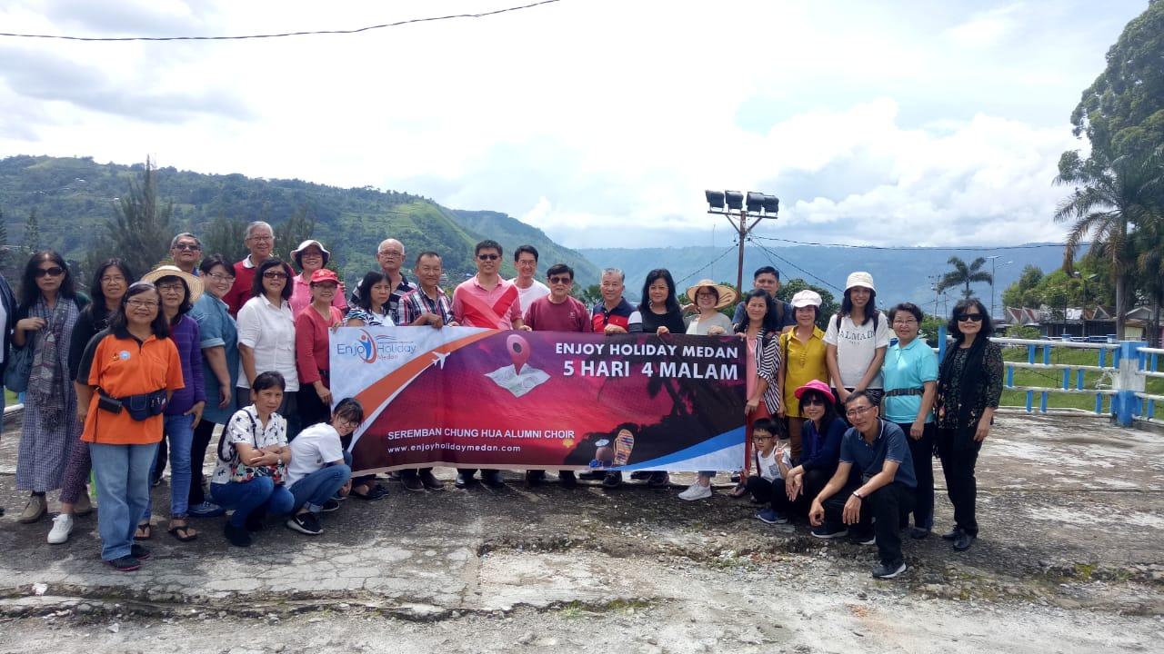 5D4N Medan - Berastagi Tour - Lake Toba Tour + Agro Tour Taman Simalem Resort & Jungle Trekking