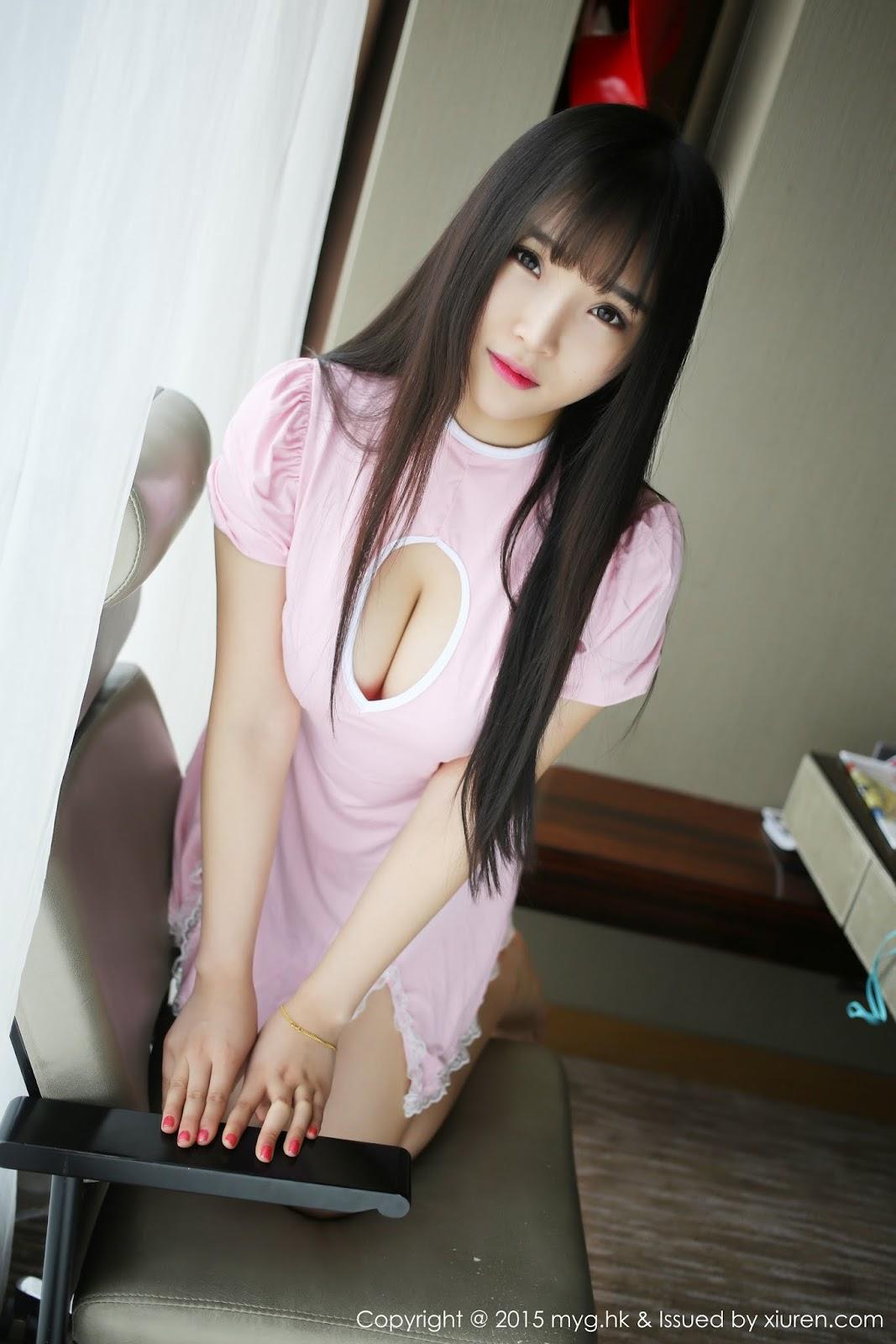 0043 - Sexy Girl Model MYGIRL VOL.118