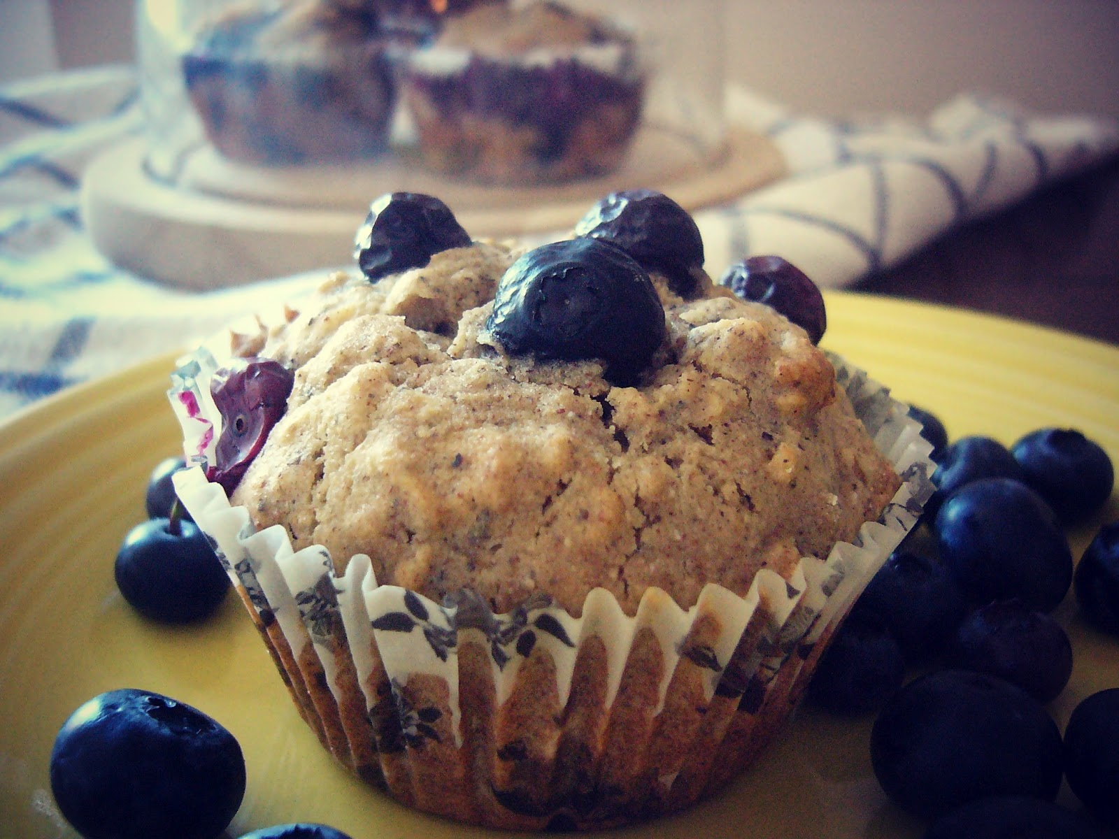 Gluten-Free Blueberry Oatmeal Muffins - The Best of this Life