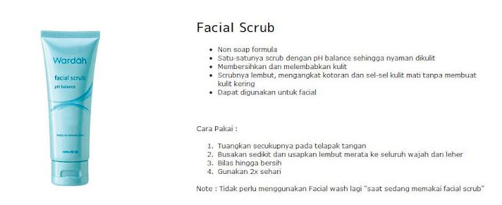 Facial Scrub -$ 6