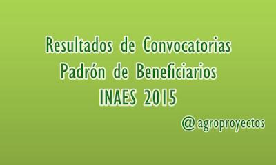 Padrón de beneficiarios de los programas INTEGRA y CRECE