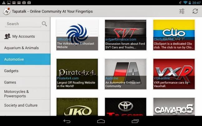 Tapatalk Pro android apk - Screenshoot