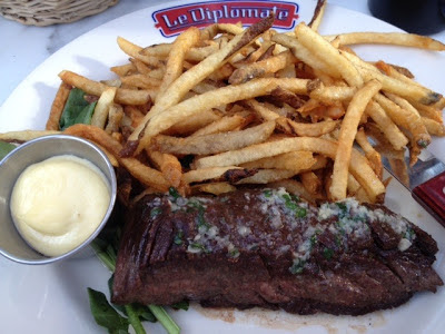Le Diplomate steak frites