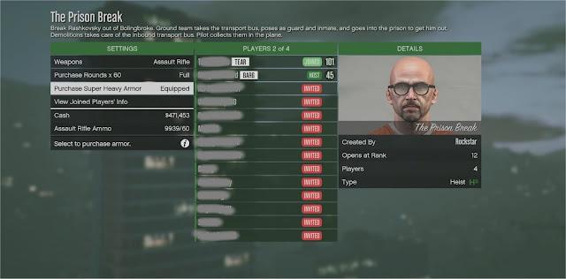 GTA 5 Online Matchmaking