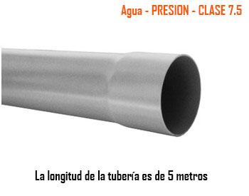 Tubos Simple Presión - Clase 7.5