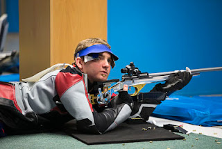 Mickael D'Halluin - França - Carabina Deitado - Copa do Mundo ISSF de Carabina e Pistola 2013 - Tiro Esportivo