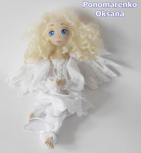 ангел,кукла,шарнирная кукла,купить