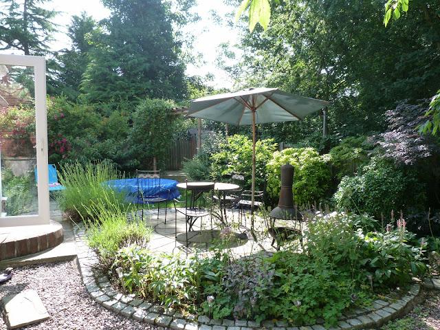 The garden in July