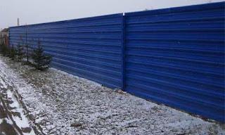 Забор из профлиста. Фото 12