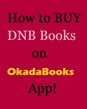 How to buy DNB Books on OkadaBooks