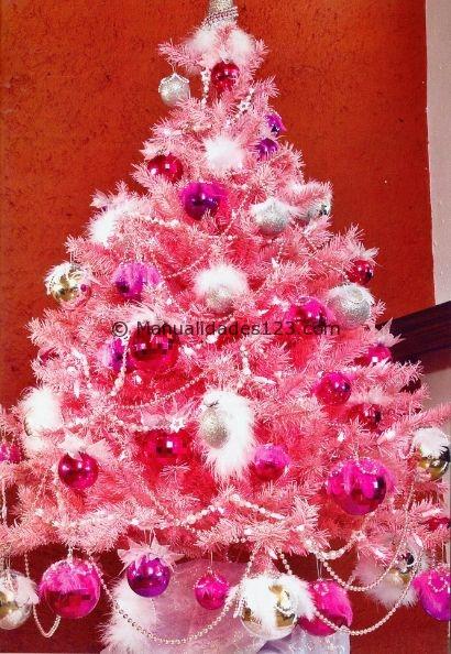 Miss sweet cake christmas tree - Arboles de navidad rosa ...