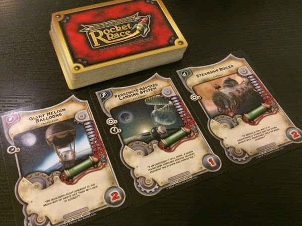 Rocket Race Card Game review rocket components