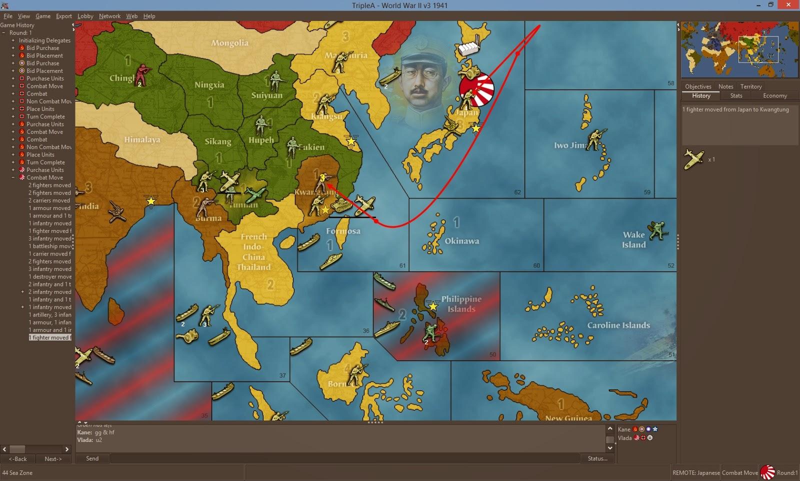 Krieg in Asien und im Pazifik