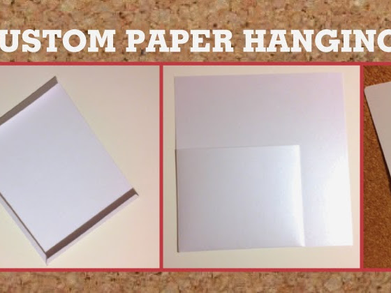 Custom Paper Hanging Pouches