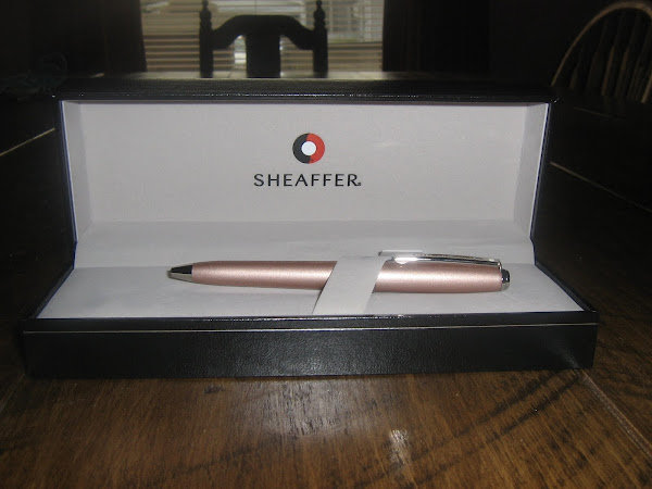 Sheaffer Prelude Mini Ballpoint Pen Review and Giveaway