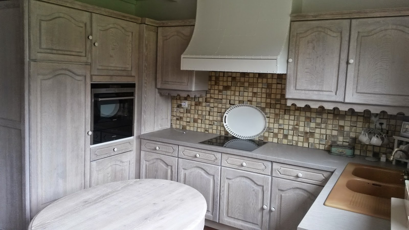 Eiken Keuken Beitsen : Renovatie van een eiken keuken Meubelrenovatie