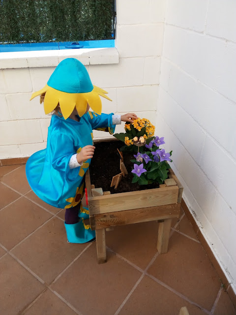 mesita cultivo uso niños