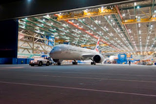 First Boeing 787 aircraft at increased production rate [Photo: Boeing]