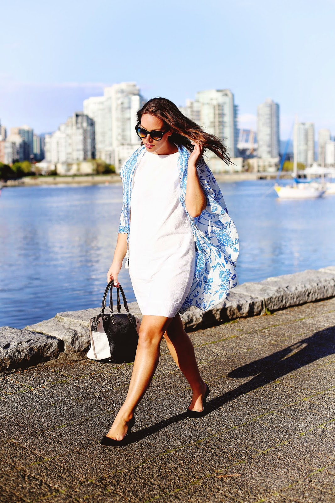 to vogue or bust, vancouver style blog, vancouver fashion blog, vancouver lifestyle blog, vancouver health blog, vancouver fitness blog, vancouver travel blog, canadian fashion blog, canadian style blog, canadian lifestyle blog, canadian health blog, canadian fitness blog, canadian travel blog, alexandra grant, j.crew white dress, aritzia square scarf, aritzia printed scarf, j.crew everly suede pumps, roots leather bag, vintage sunglasses, how to wear a kimono scarf, how to wear a kimono, how to make a kimono out of a scarf, how to style aritzia scarf, how to wear an aritzia scarf, spring trend report, spring trends, how to style a kimono, best fashion blogs, best style blogs, best lifestyle blogs, best health blogs, best fitness blogs, best travel blogs, top fashion blogs, top style blogs, top lifestyle blogs, top health blogs, top fitness blogs, top travel blogs