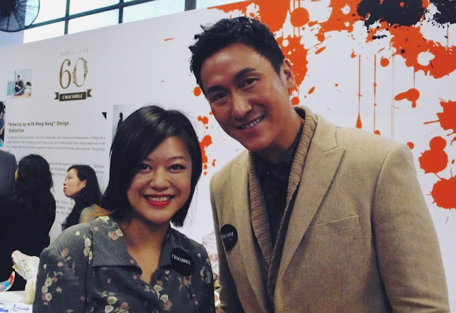 Joe Ma at Crocodile Detour Growing up in Hong Kong event