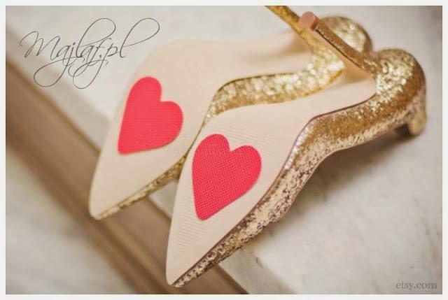 Majlaf- stopery w kształcie serca