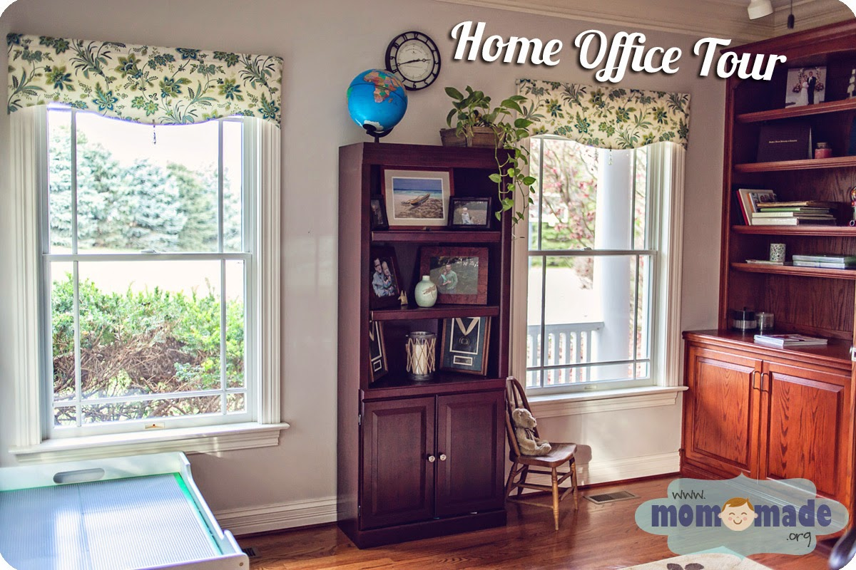 Home Office Tour by Mom-Made