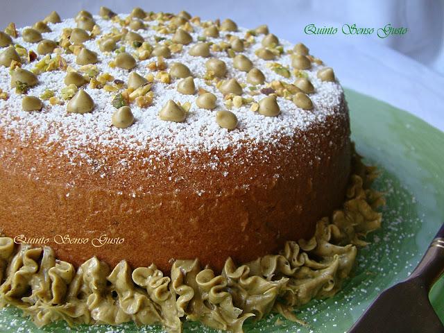 cake all'annona e pistacchio di bronte