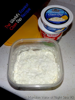 The World's Easiest Clam Dip Recipe; just a few minutes of your time and a couple ingredients is all that's required to make this family favorite. Night Sea 90.