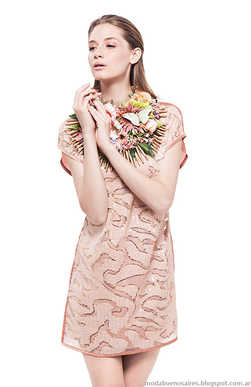 Moda vestidos cortos 2015, Basement primavera verano 2015.