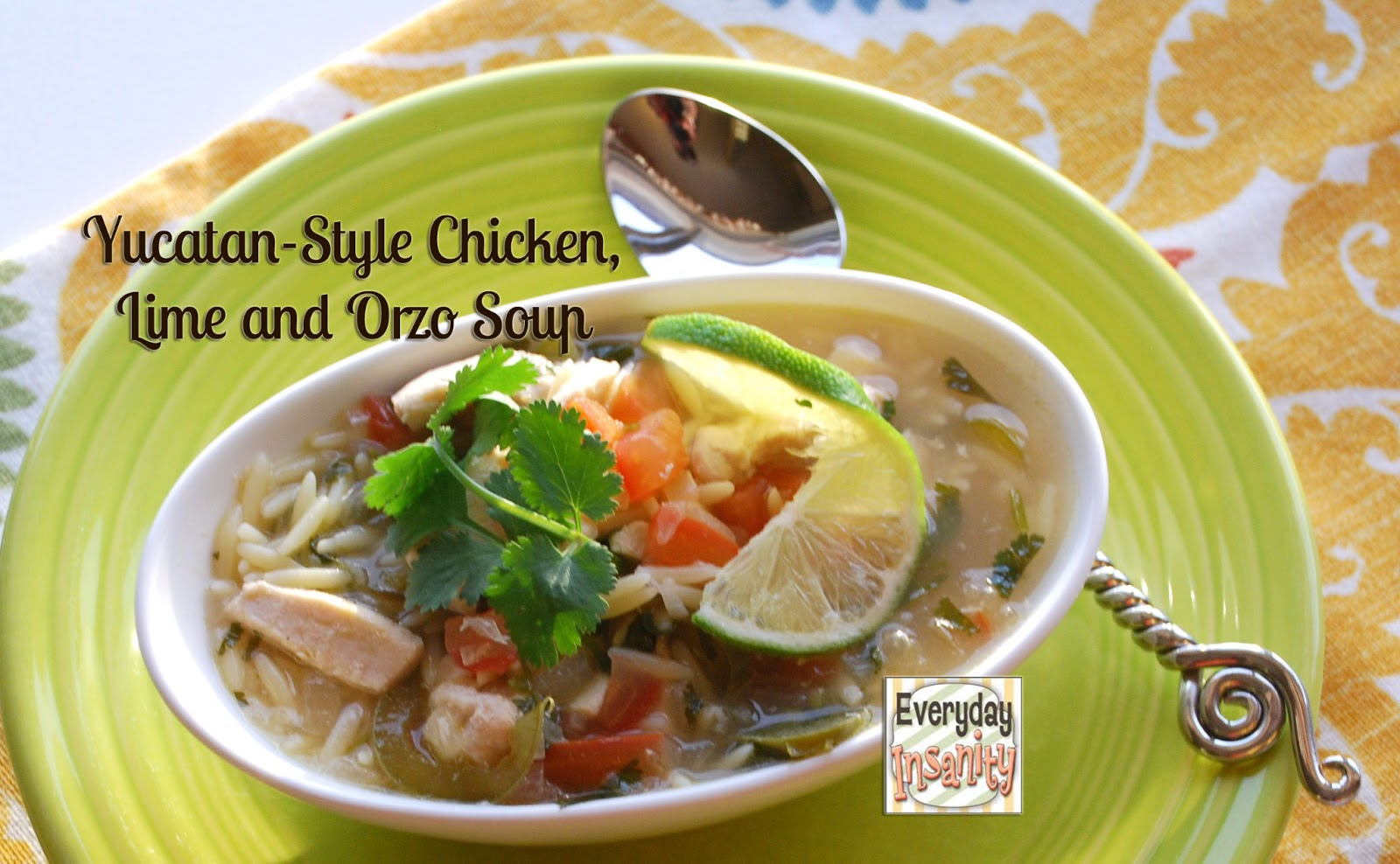 ... soup spicy chicken noodle soup with lime and ginger creamy tomato orzo