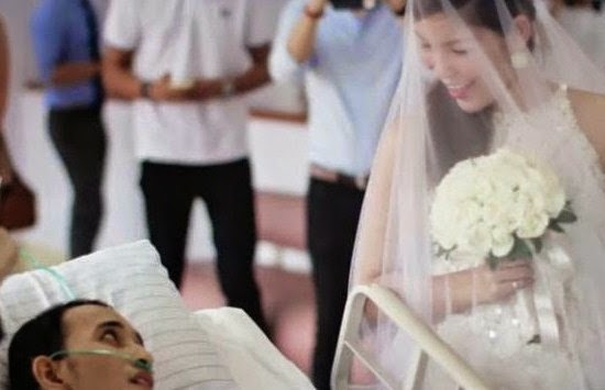 Gadis Filipina ini Menjanda Setelah 10 Jam Menikah