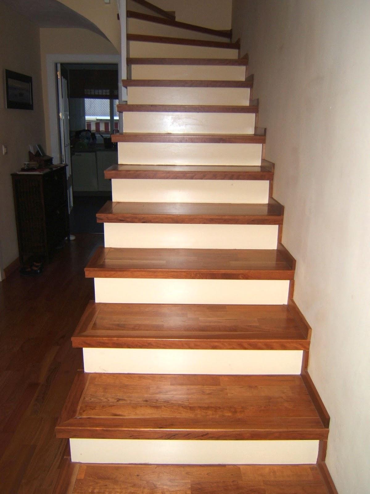 Nicolas rojas instalaciones tarima cocinas armarios - Maderas para escaleras ...