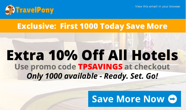 TPSAVINGS Travel Pony